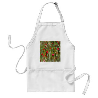 Red Poppies In A Cornfield Standard Apron