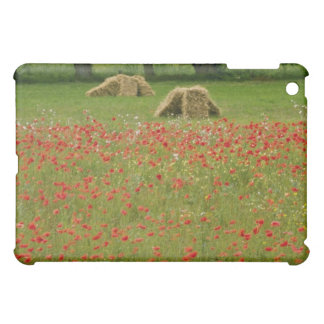 Red Poppies in Vendee, France flowers iPad Mini Covers
