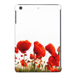 Red Poppies iPad Mini Cases