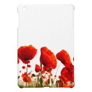 Red Poppies iPad Mini Cover