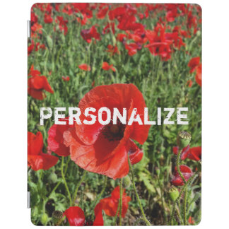 Red Poppies Ipad Smart Cover iPad Cover