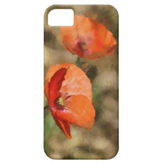 Red poppies iPhone 5 cases