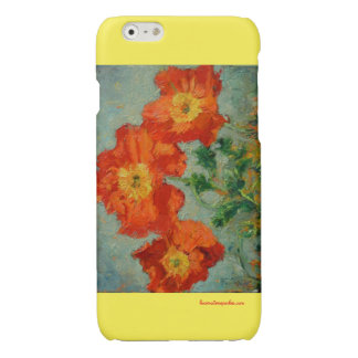 Red Poppies iphone 6 plus phone case