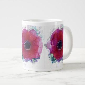 Red Poppies Jumbo Mug #1