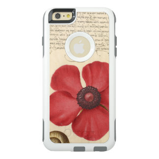 Red Poppy And The Bug OtterBox iPhone 6/6s Plus Case