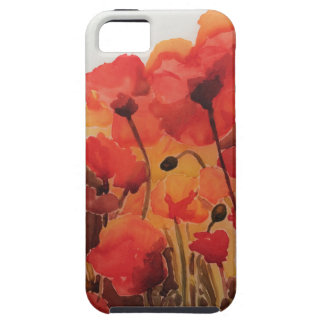 Red Poppy Field Case iPhone 5 Covers