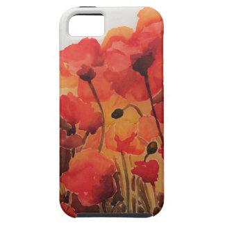 Red Poppy Field Case