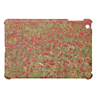 Red poppy field, Portugal flowers iPad Mini Covers