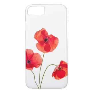 Red Poppy Flower Iphone 7 Case