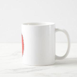 Red Poppy Head 1g Mg By KABFA Designs Coffee Mug