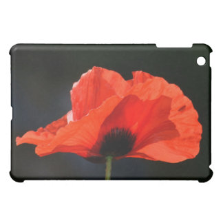 Red Poppy Cover For The iPad Mini