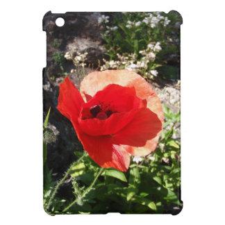 Red Poppy iPad Mini Cases
