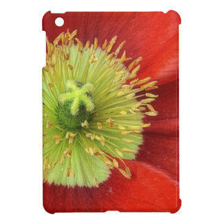Red Poppy Case For The iPad Mini