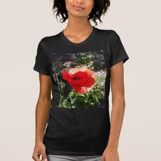 Red Poppy Tee Shirts