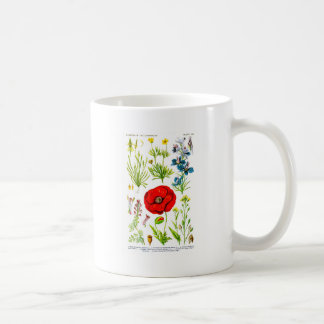 Red Poppy Wildflower #1 Remembrance day Coffee Mug