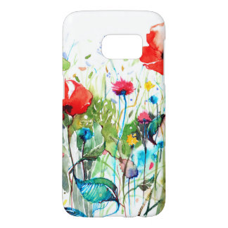 Red Poppy's Watercolors & Colorful Flowers