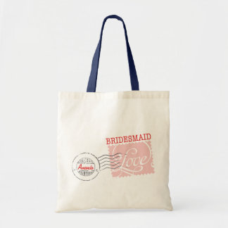 Red Postal Service Collection Tote Budget Tote Bag