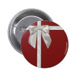red present pinback buttons