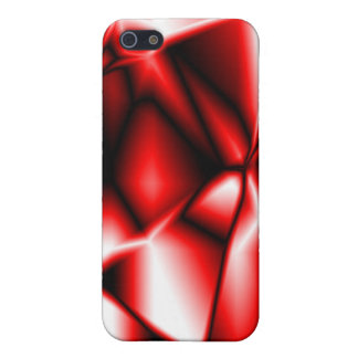 Red Print iPhone Case 4 iPhone 5/5S Case