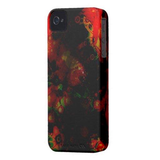 Red Psy Blackberry Hard Case Blackberry Bold Case