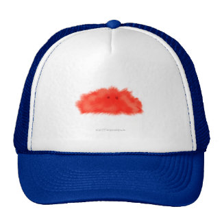 Red Puffball Critter Cap