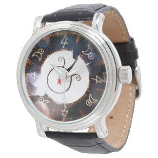 "red puppy ""Alchemy Time"" Watch"