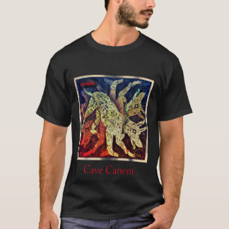 "red puppy ""cave canem"" T-Shirt"