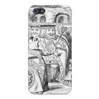 Red Queen Alice in Wonderland iPhone 5/5S Covers