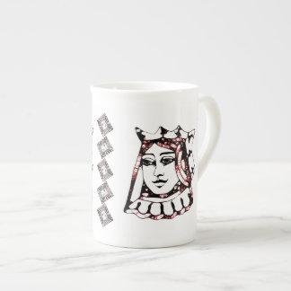 Red Queen Bone China Mug