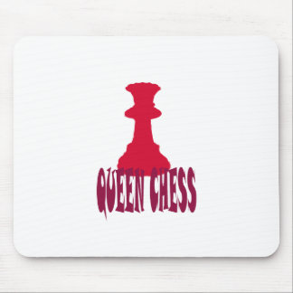 Red Queen Chess Mousepad