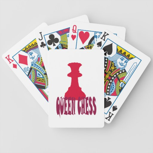 Red Queen Chess Card Decks