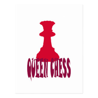 Red Queen Chess Postcards
