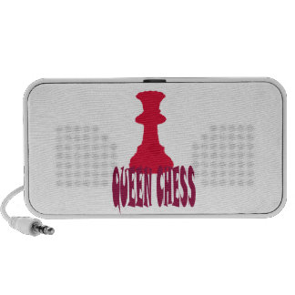 Red Queen Chess iPod Speaker
