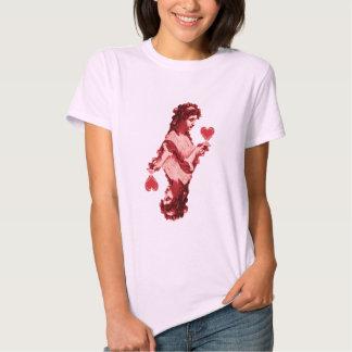red queen heart tee shirt