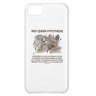 Red Queen Hypothesis (Wonderland Alice Red Queen) iPhone 5C Case