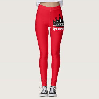 Red Queen leggings