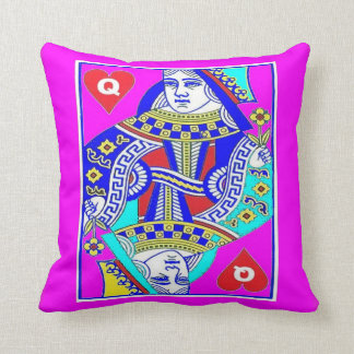Red Queen's New Look Throw Pillow by Sharles