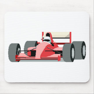 Red Race Car Mouse Pads