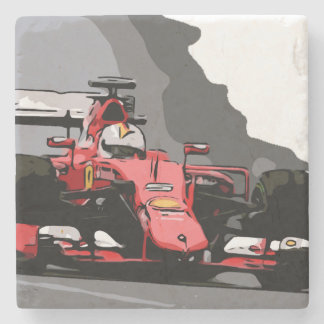 RED RACE CAR - NEVER LIFT STONE COASTER