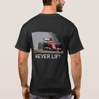 RED RACE CAR - NEVER LIFT T-Shirt