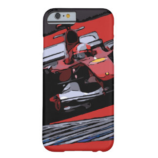 RED RACE CAR - PASSION BARELY THERE iPhone 6 CASE
