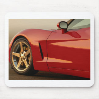 Red Racing Car Mouse Pad