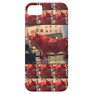 Red Raging Bull Heathrow Airport London England UK Barely There iPhone 5 Case