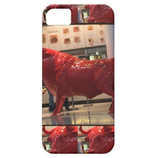 Red Raging Bull Heathrow Airport London England UK Case For The iPhone 5
