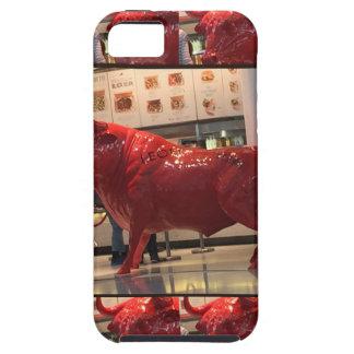 Red Raging Bull Heathrow Airport London England UK iPhone 5 Covers