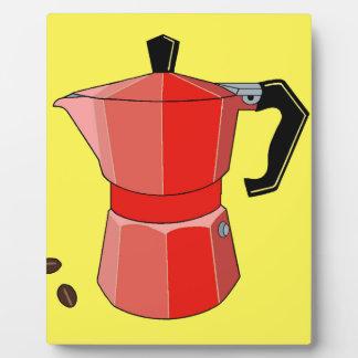 Red Rainbow Espresso Plaque