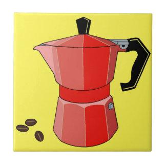 Red Rainbow Espresso Tile