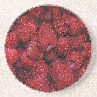 Red Raspberries Coaster
