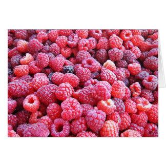 Red Raspberries ~ Fresh Produce Series Note Card
