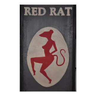 Red Rat Pub Sign